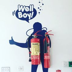 More of the artwork around the Broadcast Centre.. Can you get more #Waterford than that?! #LifeAtWLR #WellBoy