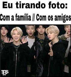 Kkkkk mano vc e muito fofoooo Bts Memes, K Meme, Bts Meme Faces, Funny Memes, Hoseok, Seokjin, Namjoon, Taehyung, K Pop
