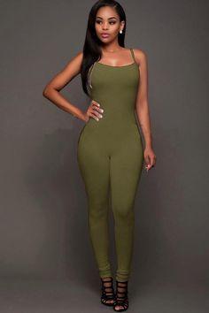275c3f38f2c Aliexpress.com   Buy Front Zip Women Fashion Striped Casual Rompers ...
