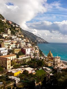 POSITANO, ITALY - In my opinion, the most beautiful spot on the Amalfi Coast.