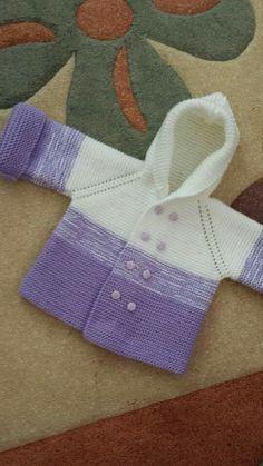 Knitting For Kids, Baby Knitting Patterns, Crochet For Kids, Knitting Designs, Baby Patterns, Free Knitting, Crochet Baby Sweaters, Knitted Baby Cardigan, Knit Crochet