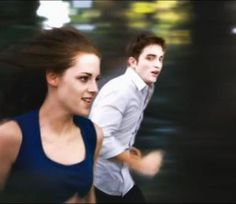 """when Bella realizes how fast she can run in the movie """"Breaking Dawn"""" part 2......."""