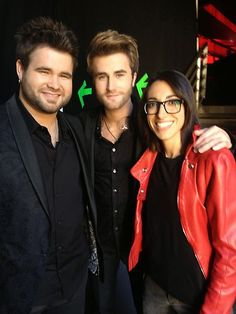 Behind the Scenes: The Finale, Part 1 | Photo Gallery | The Voice | NBC    michelle chamuel & the swon brothers