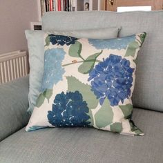 Lorna Syson Hydrangea Cushion See this Instagram photo by @lornasyson • 36 likes