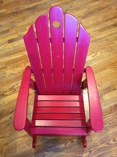 Minneapolis: kids red adirondack rocking chair  - http://furnishlyst.com/listings/766776