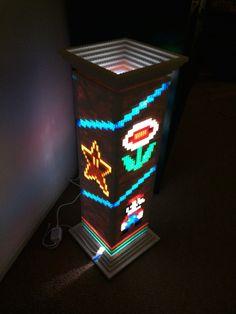 Impressive, But $2,200: Light-Up LEGO Super Mario Lamp