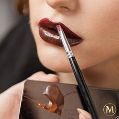 We're adding a twist on the gorgeous chocolate lips Karla Powell created for us, stay tuned Pleasure Seekers! #chocolatemakeup