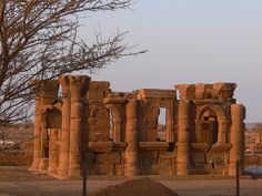 Apedemak temple in Naqa, SUDAN