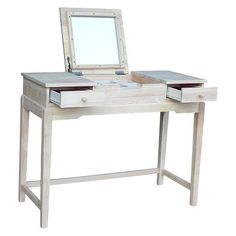 Vanity Table Unfinished - International Concepts : Target