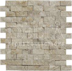 Coctail Beige splitface mosaic 2,3x4,8 cm (DG 1127)