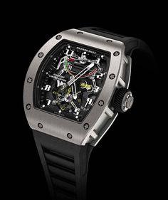 Richard Mille RM 036 Tourbillon G Sensor Jean Todt | RichardMille RM036 Front 560