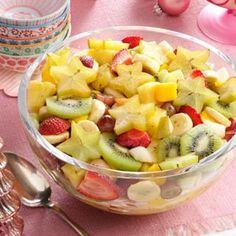 Diabetic Fruit Salad Recipe | Refreshing Tropical Fruit Salad Recipe photo by Taste of Home