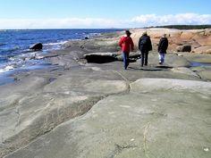 Storesand Hvaler - polished cliffs