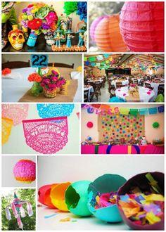 decorations for a cinco de mayo wedding
