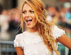 My other favorite idol....Miss Blake Lively.