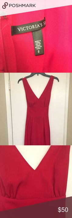 Dress Red Victoria Secret dress. Size 6. Never worn. Victoria's Secret Dresses