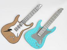 DIY Cardboard Electric Guitar by La maison de Loulou |