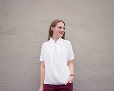 Made By Meg: Perth Top and My Menswear Obsession