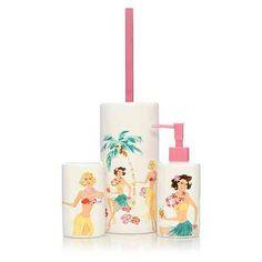 George Home Hula Girl Bathroom Accessories