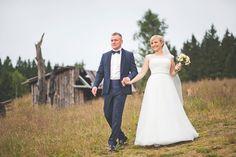 Sesja ślubna wykonana podczas imprezy weselnej