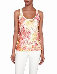 Sequined Paillette Tank
