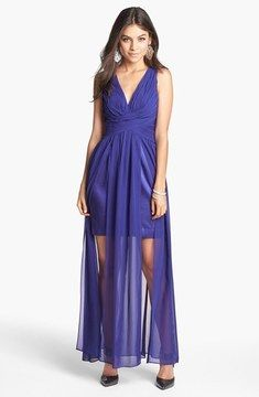 Adrianna Papell Hailey by Ruched Chiffon Gown on shopstyle.com