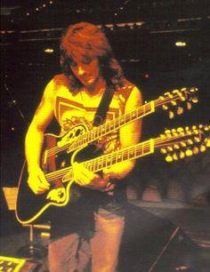 Richie Sambora, and his unbelievable guitar skills  :)