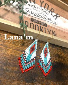 Seed Bead Earrings, Beaded Earrings, Seed Beads, Beaded Jewelry, Crochet Earrings, Drop Earrings, Fringes, Beading Patterns, Beadwork