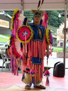 Native American Dancer by Jacob...K, via Flickr