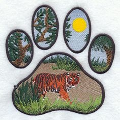 I would like to switch out the leaves and branches in 3 of the paws for a LSU and keep the moon paw.