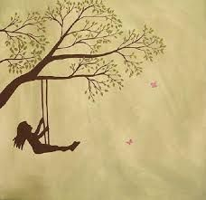 girl on a swing - Google Search