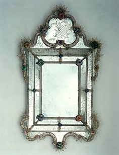 Venetian, Antique mirrors and Venetian mirrors on Pinterest