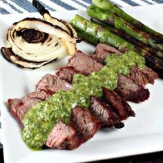 Argentinian Grilled Steak With Rosemary Recipe — Dishmaps