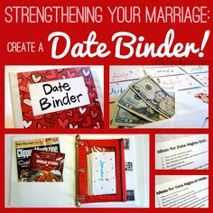 Date Binder. Organized dating in marriage. Strong marriage = strong family. :)
