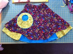 Insa Skirt with a McCall's M6290 pocket