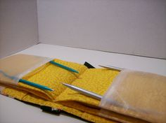 Cupcake Circular Knitting Needle Case by fireflyfantasy on Etsy