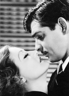 Joan Crawford and Clark Gable photographed for Dancing Lady, 1933