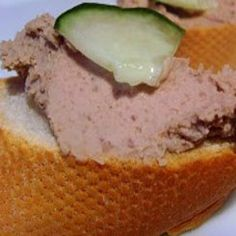 Easy chicken liver pate recipe .Maybe this recipe instead?