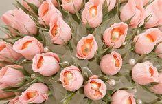 bricolaje ramo de flores de rosa de chocolate yemas ferrero rocher