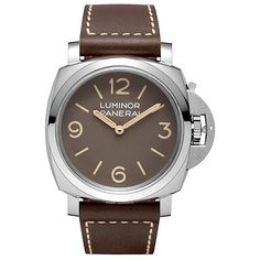 Panerai Luminor 1950 3 Days Acciao 47mm Men's Watch PAM00663