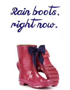 Rain boots,right now.  Rain boots have been on my mind.  Read the post and see more rain boots at  easystyleformoms.com.