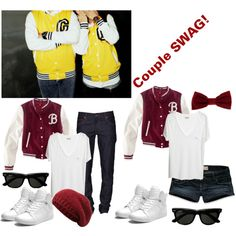 """""""Couple SWAG!!"""" by louiseevelyn on Polyvore"""