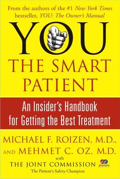 Everyone needs to become a smart patient. In fact, in the worst cases, your life may even depend on it. Number one bestselling authors and doctors Michael Roizen and Mehmet Oz have written this indispensable handbook to help everyone to get the best health care possible -- by making everyone into their own medical detective. Witty, playful, at times offbeat, but always authoritative, You: The Smart Patient shows you how to become your own medical sleuth, tracing your medical family tree and…