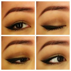 Make up for Asian eyes. Look for fall, soft eye with bold liner and then pair it with a dark cranberry lip color or a pink nude lip color