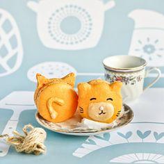 Kitty macarons - purr-fect