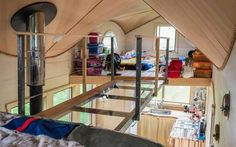 The Pequod is a whale of a tiny house for family of four : TreeHugger - http://www.treehugger.com/tiny-houses/pequod-rocky-mountain-tiny-houses.html