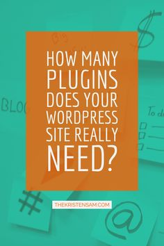 """""""Do you know which plugins are useful to your website and which (or how many) may be overkill? Do you know what attributes and functions your audience responds to and what turns them off?  Many websites go overboard. They utilize nearly every plugin out there. The goal, supposedly, is to provide a great user experience. Unfortunately, they end up accomplishing the opposite.  How Many Plugins Does Your Website Actually Need?""""…"""