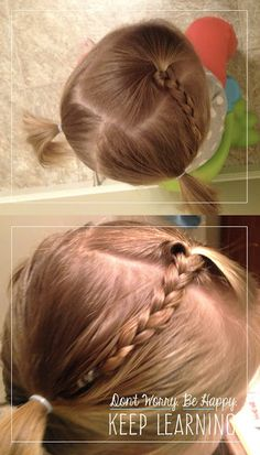 10 Simple Toddler Hairstyles.Don't Worry. Be Happy. Keep Learning. the blog