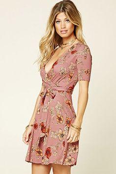 Floral Surplice Mini Dress $16 for Ayo in Scene 1