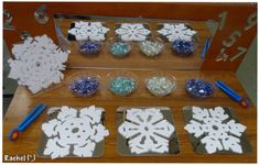 """Winter and snowy-related activities for the Early Years classroom from Rachel ("""",) Frozen Activities, Winter Activities, Kindergarten Activities, Preschool Winter, Early Years Classroom, Christmas 2015, Winter Wonderland, 2015 Winter, Winter Ideas"""